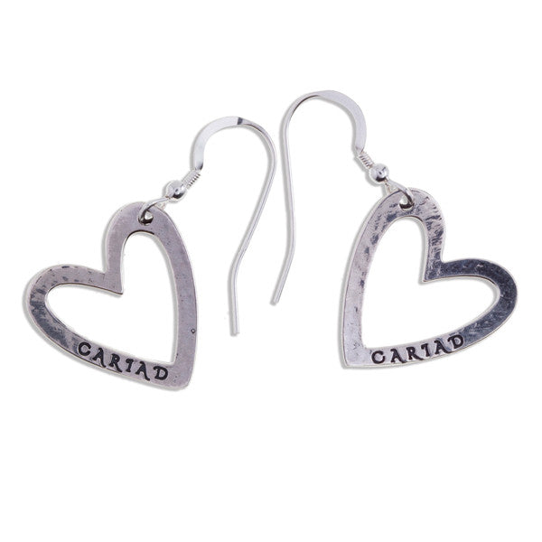 Cariad Sterling Silver Earings