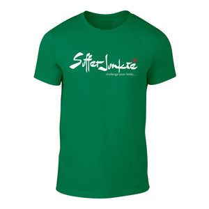 Suffer Junkie® CHALLENGE YOUR LIMITS - TEE green