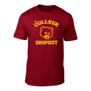 THE COLLEGE DROPOUT - TEE Red