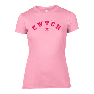 Cwtch -  College Dragon Star Welsh T-Shirt
