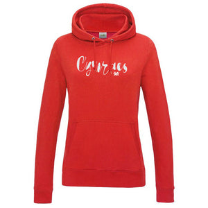 Cymraes Womens Welsh Hoodie (Colour Choice)