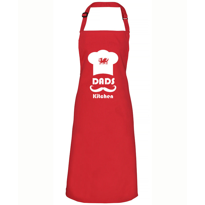 Dads Kitchen - Welsh Dragon Apron