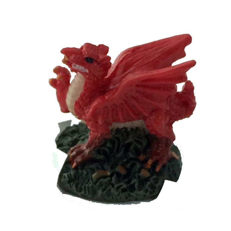 welsh dragon figurine