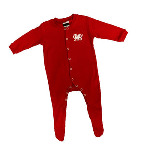 Welsh Dragon - Baby Romper Suit