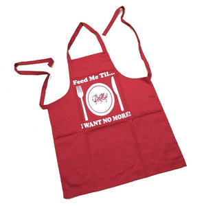 Feed Me Till I Want No More - Welsh Apron