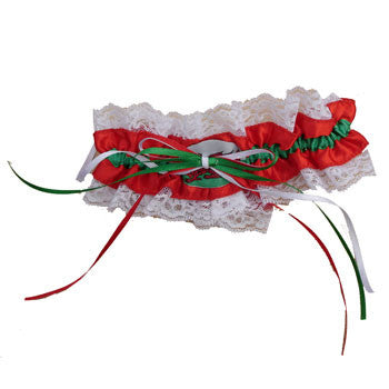 Wedding - Ladies Welsh Flag Garter