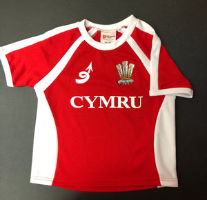 Children's - Welsh Rugby Shirt - Special Offer!