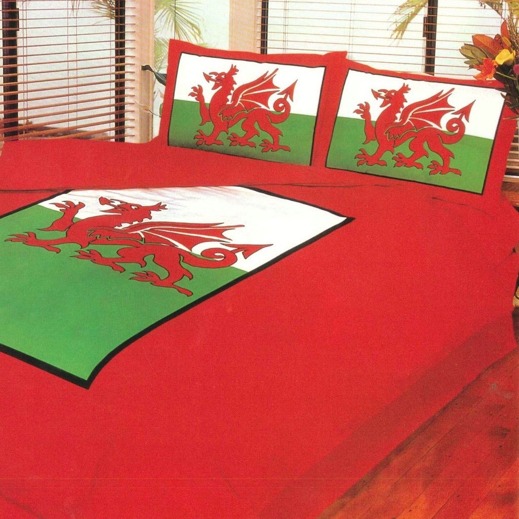Welsh Single Duvet & Pillow case - Cover Set