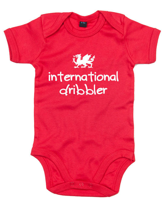Wales Football Baby Grow - International dribbler
