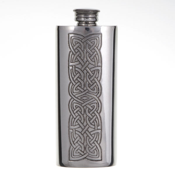 Knot panel slim flask 2oz