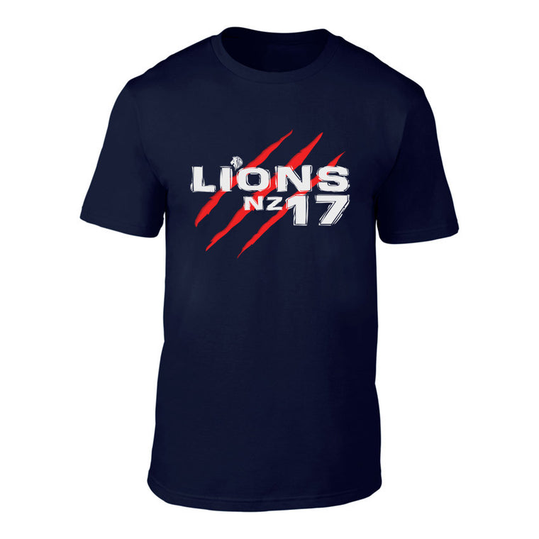 LIONS 2017 SCAR Rugby Logo Tee - NAVY