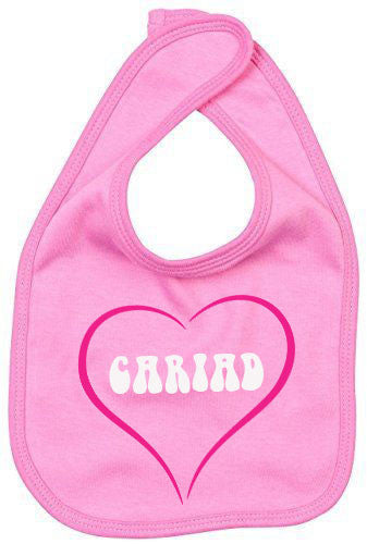 Cute Cariad - Welsh Baby Bib (Love)