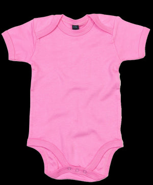 Personalised Baby Grow - Bodysuit (Pink)