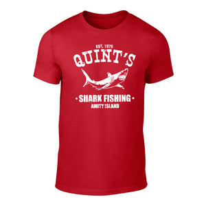 JAWS - QUINTS SHARK FISHING - TEE RED