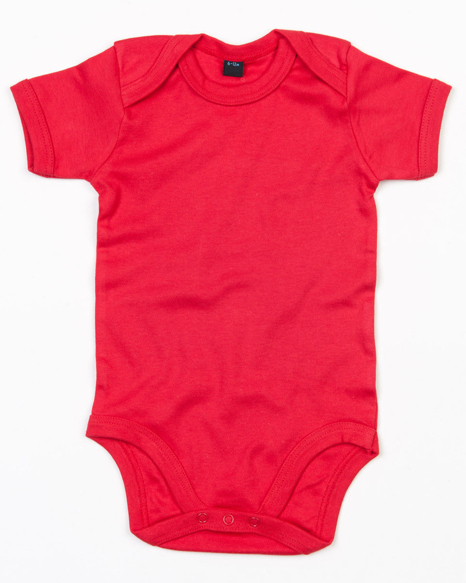Personalised Baby Grow - Bodysuit (Red)