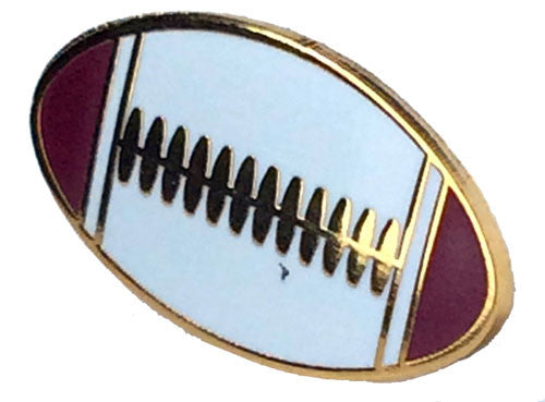 Rugby Ball Pin Badge