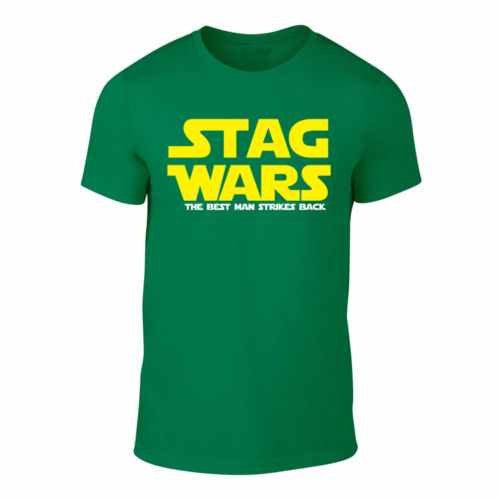 STAG WARS - The Best Man Strikes Back - Stag Trip T-Shirt (Green)