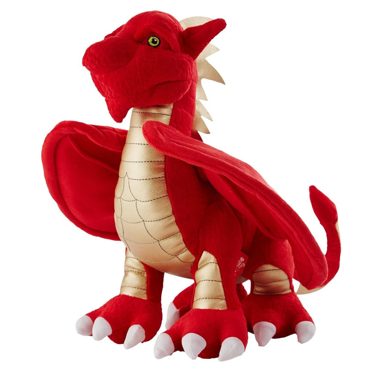 WRU Scorch Welsh Dragon Mascot