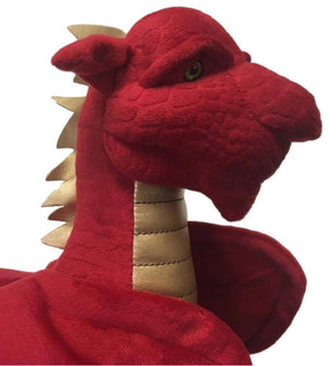 Official WRU Scorch Welsh Dragon Mascot