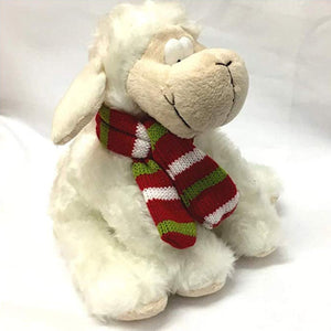 Wales Supporter Sheep with Scarf Soft Toy