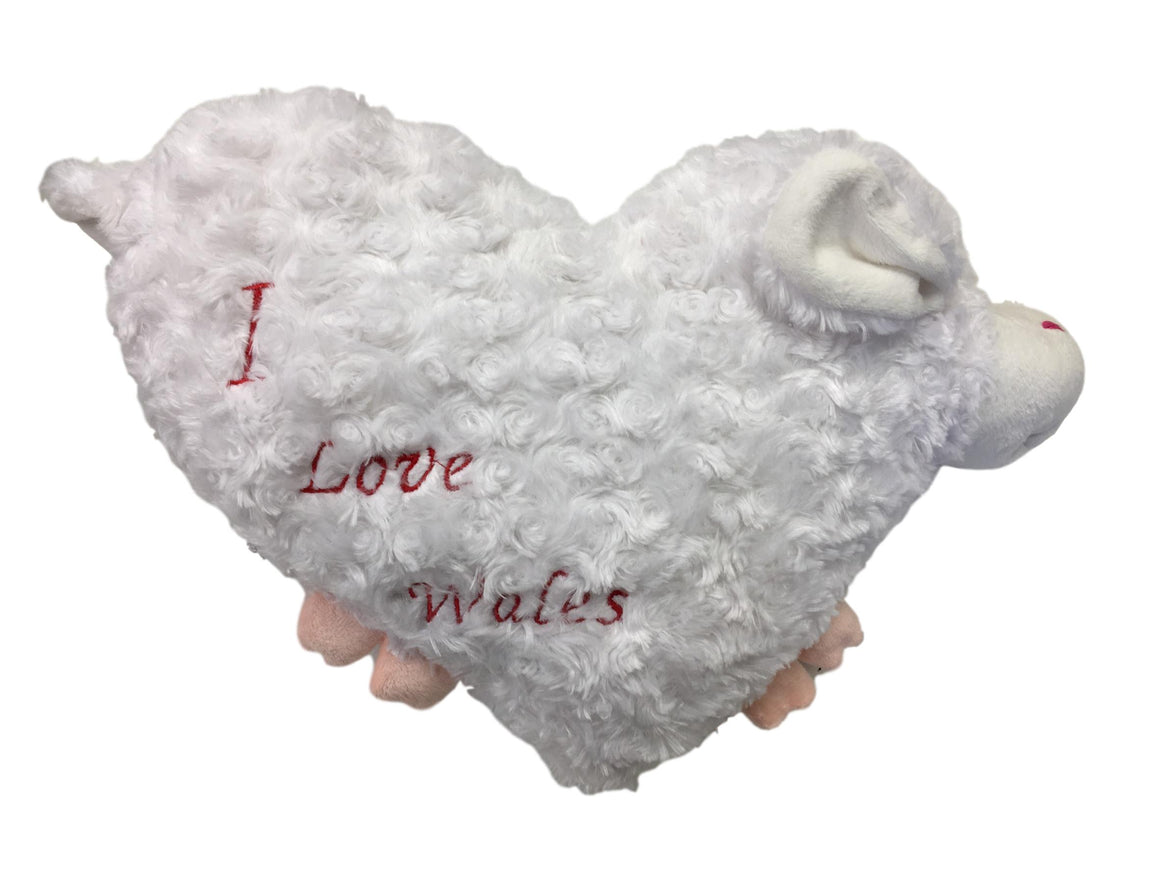 I love Wales - Welsh Sheep Cushion