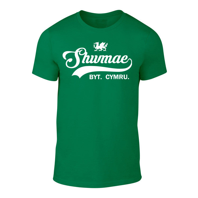 Vintage Welsh T Shirt - Shwmae Byt (Colour Choice)