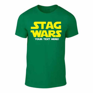 STAG WARS - Mens' Stag Trip T-Shirt (Green)