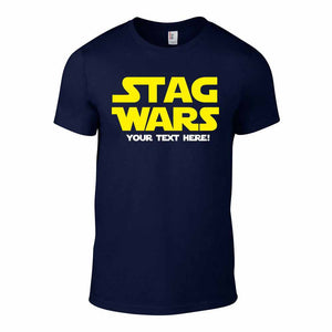 STAG WARS - Mens' Stag Trip T-Shirt (Navy)