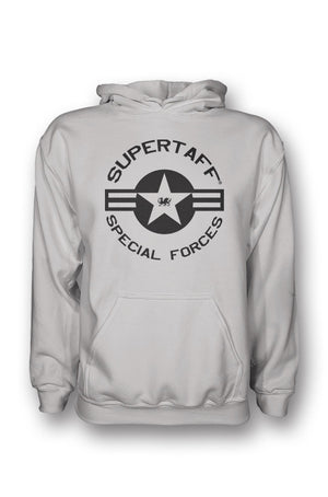 Supertaff® - Military Special Forces Hoodie (Grey)