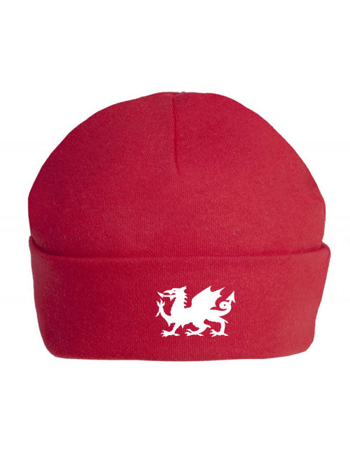 Welsh Dragon - Cotton Baby Hat