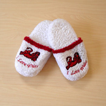 I Love Wales Slippers
