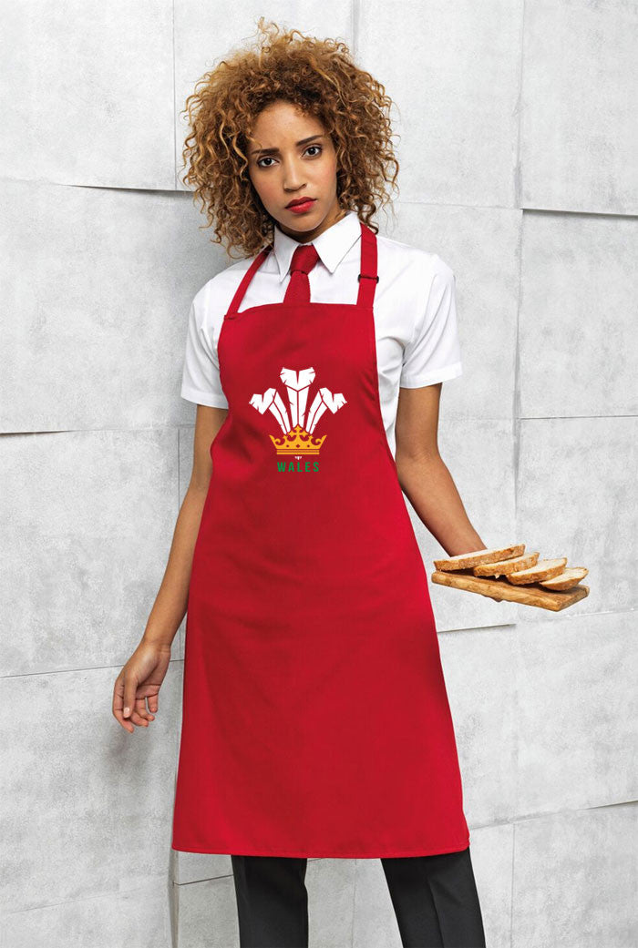 Modern Welsh Feathers - Welsh Apron