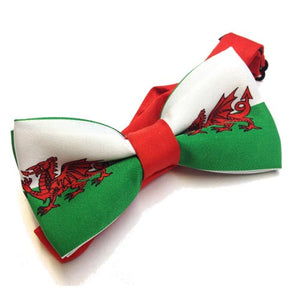 Welsh Flag Bow Tie