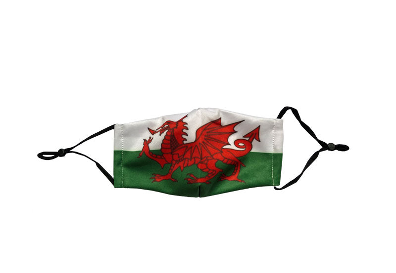 Welsh Flag - Face Mask Cover