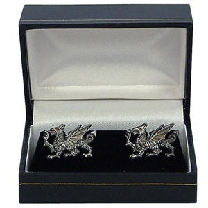Welsh Dragon Cufflinks - A E Williams