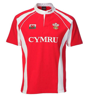 Welsh Rugby Shirt - Mens Haka Front