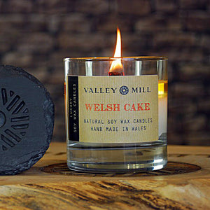 WELSH CAKE SOY - WOODEN WICK CANDLE