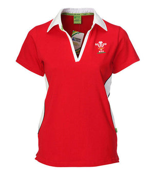 WRU Women's Rugby Shirt - Short Sleeve