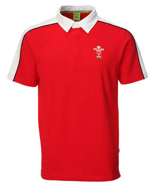 Official WRU - Welsh Rugby Shirt (Short Sleeve)
