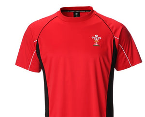 Official WRU Welsh Cool Dry T-Shirt
