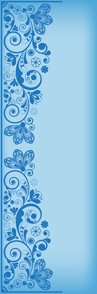 Butter Flower Blue