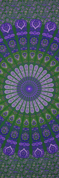 Mandala Purple/Green