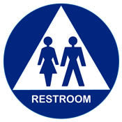 American with Disabilities Act (ADA) Restroom Signs