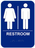 Americans with Disabilities Act (ADA) Restroom Signs