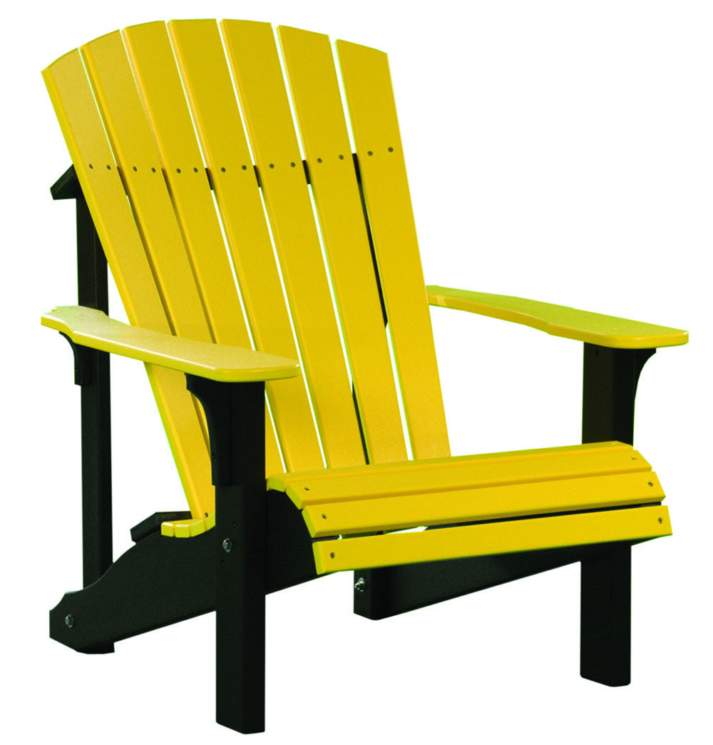 the same design were done to the seat of adirondack chairs just like the back the seat in the original design was just a flat single piece