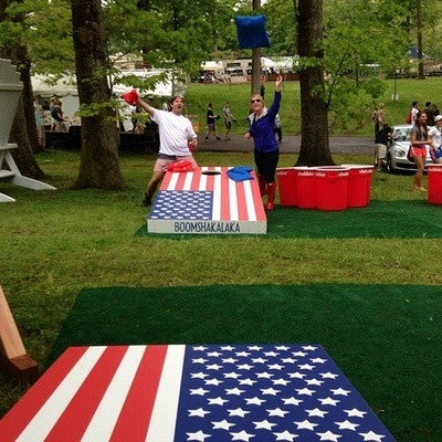 4th of july cornhole