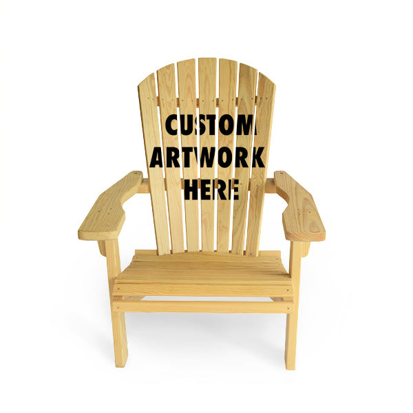 A Custom Adirondack Chair Can Be An Awesome Addition To Your House Or Gift.  These Custom Adirondack Chairs Can Have Any Artwork You Want Printed Onto  Them.