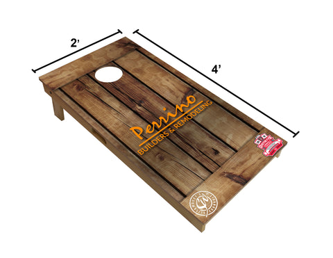 Regulation size cornhole board
