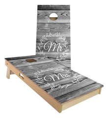 Custom Wedding Cornhole Boards (Mr and Mrs)