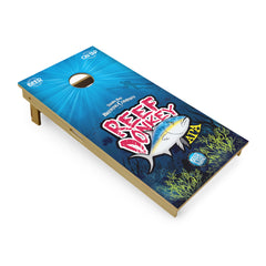 Slick Woody's Custom Cornhole Board Sets Reef Donkey